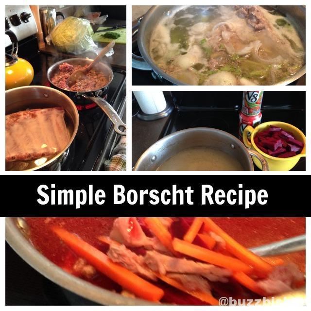 Simple Borscht Recipe