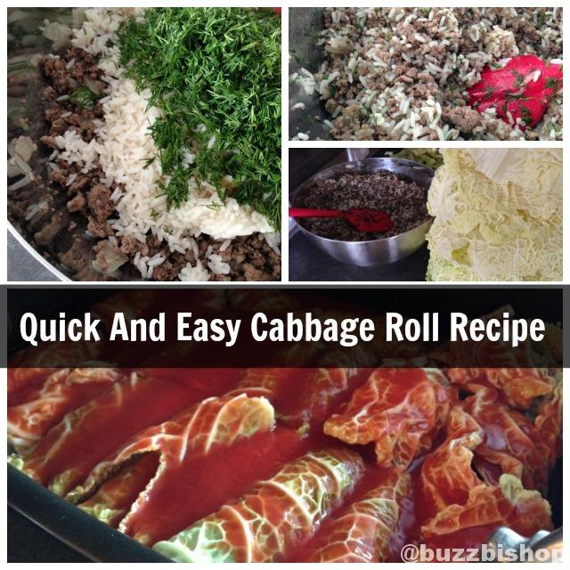 Quick And Easy Cabbage Rolls Recipe