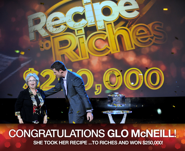 Who Won The Recipes To Riches $250,000 Grand Prize?