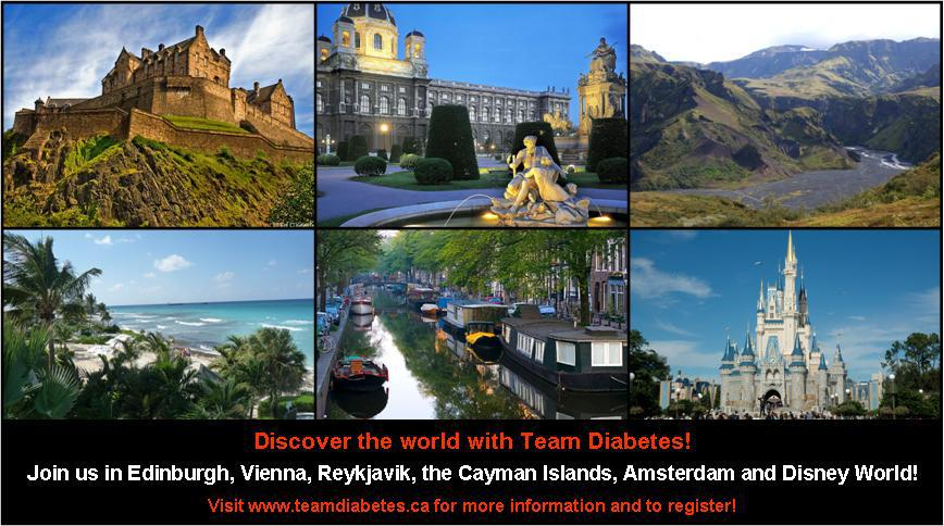Team Diabetes 2013 Event Calendar