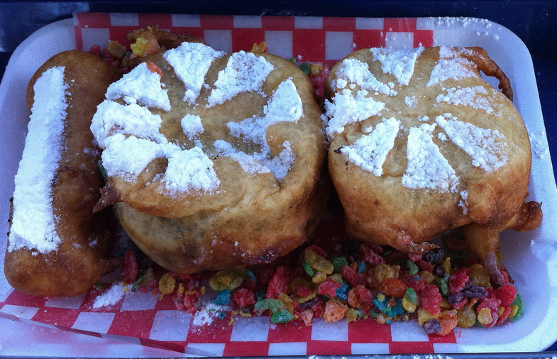deep fried wagon wheels