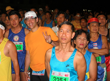 running the thailand marathon