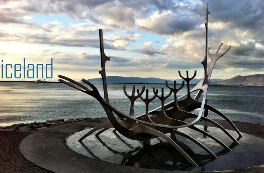 viking boat in reykjavik harbour