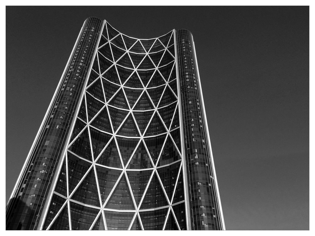 Seen In Calgary #4: The Bow Tower