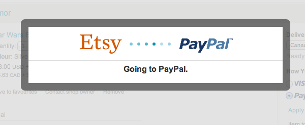 paypal and etsy