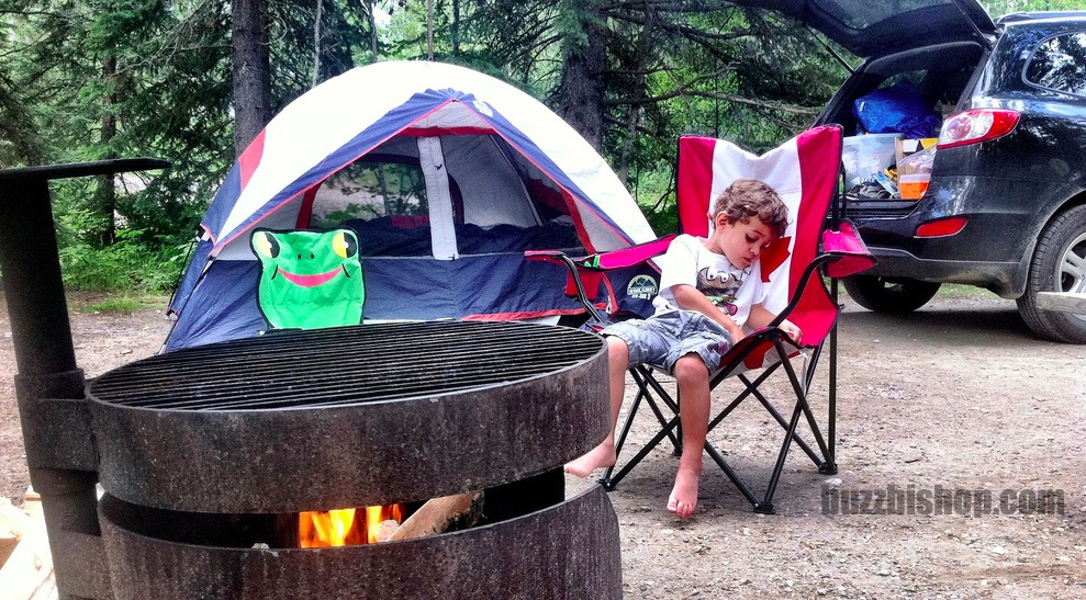 camping with kids in alberta
