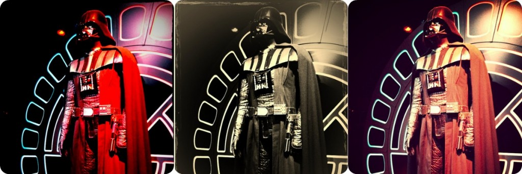 darth vader collage star wars identities