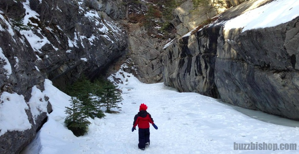 jura creek canyon trail snowshoe