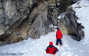 jura creek snow shoeing