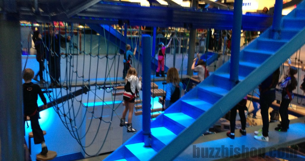 ropes quest at west edmonton mall
