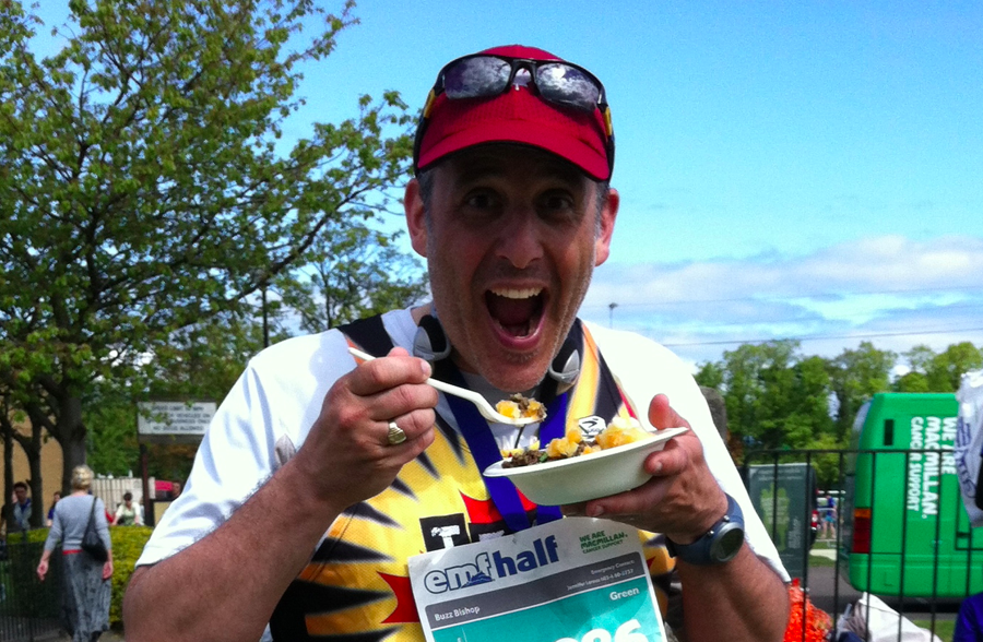 Haggis after Edinburgh Marathon