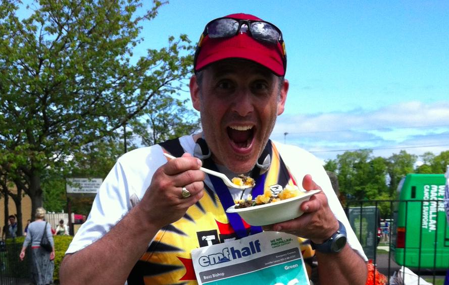 haggis at edinburgh marathon