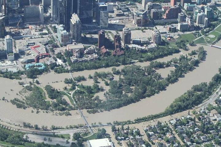 Calgary Flood 2013: Prince's Island