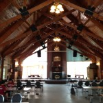 Mess hall at Camp Jean Nelson