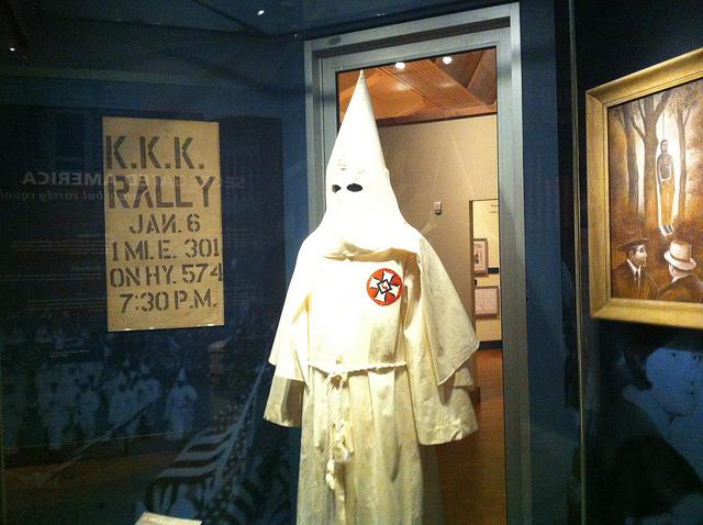 KKK hood - Henry Ford Museum