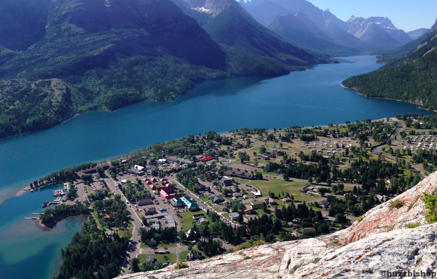 Bear's Hump at Waterton Lakes National Park