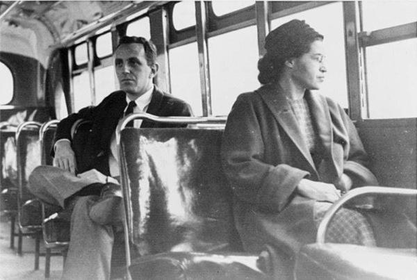 Rosa Parks Recreates Bus - Henry Ford