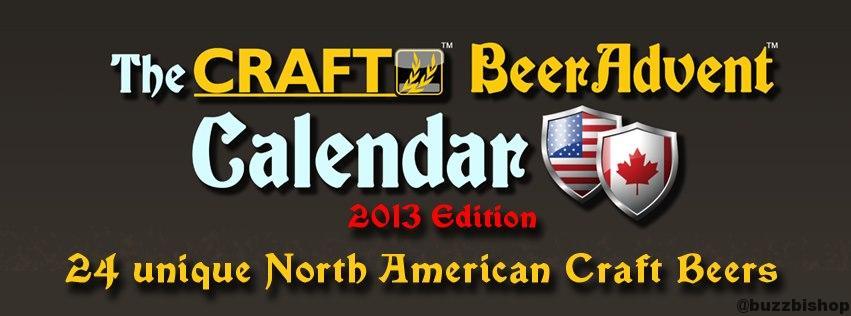 2013 craft beer advent calendar