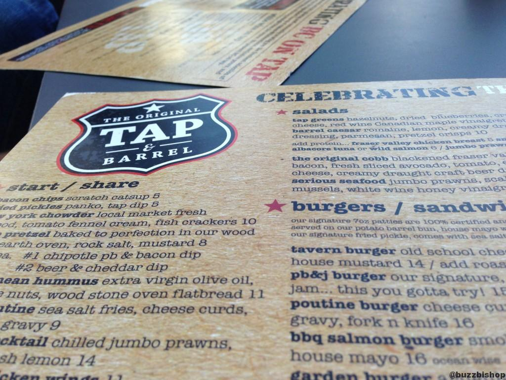 tap and barrel pub