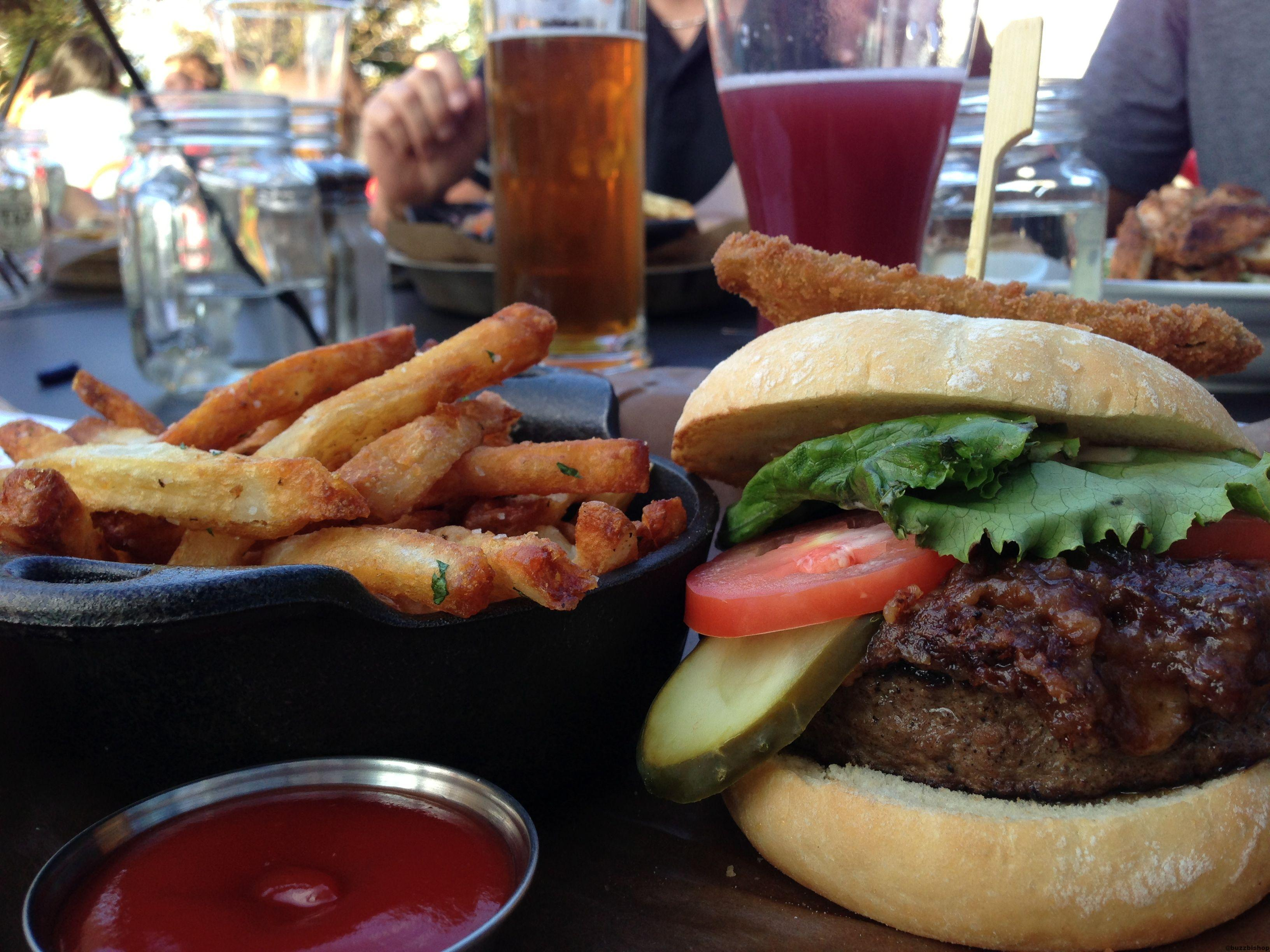 PB&J Burger at Tap and Barrel