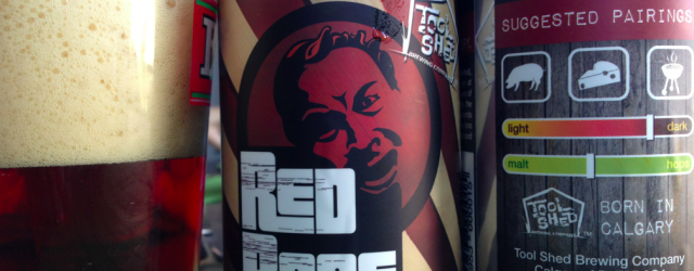 tool shed brewing red rage
