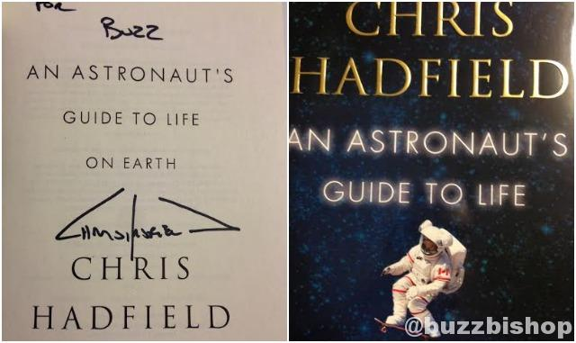 Chris Hadfield autograph
