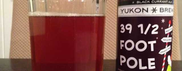 Yukon Brewing 39 1/2 Foot Pole Black Currant Ale