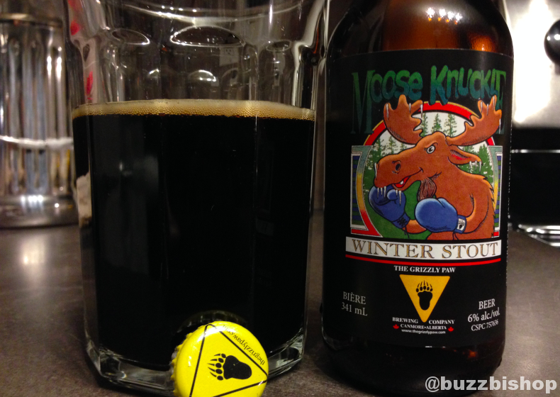 Grizzly Paw Moose Knuckle Winter Stout