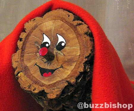 Christmas Pooping Log