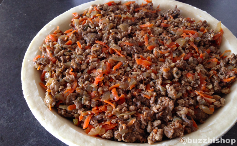 My grandmother's tourtiere recipe