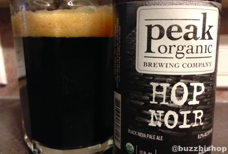 2013 Craft Beer Advent Calendar  Peak Organic Hop Noir
