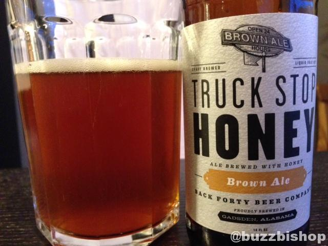 Back Forty Truck Stop Honey Brown Ale