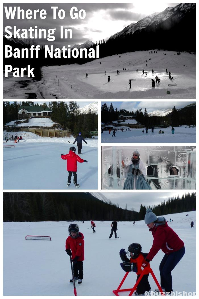 Where To Go Skating In Banff National Park