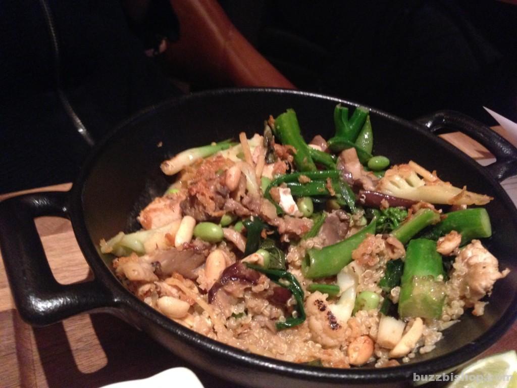 Earl's Tin Palace Calgary - Quinoa bowl