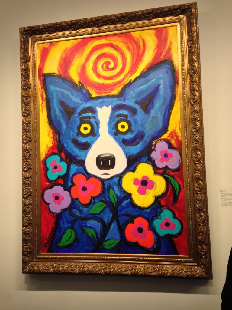 Rodrigue's Blue Dog in New Orleans