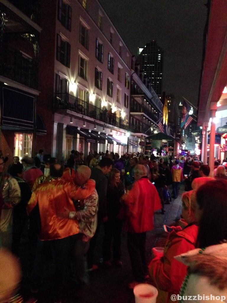 Parade on Bourbon Street, New Orleans