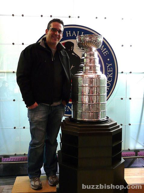 Buzz Bishop And The Stanley Cup