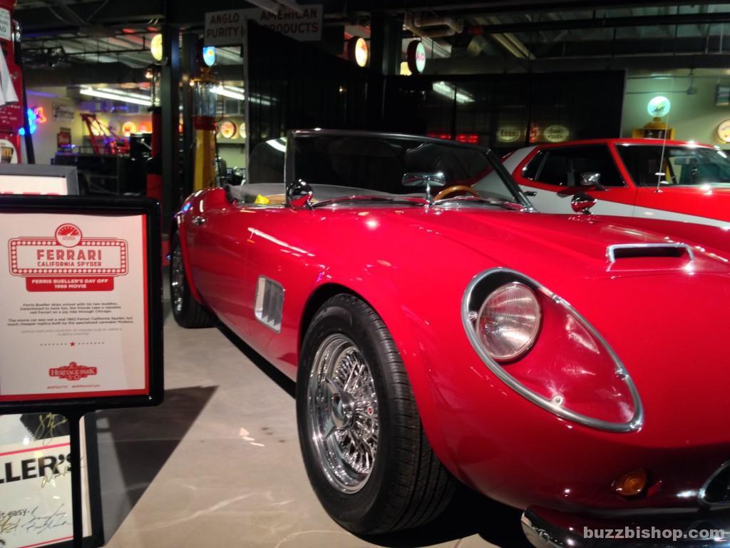 Ferris Buehler's Ferrari