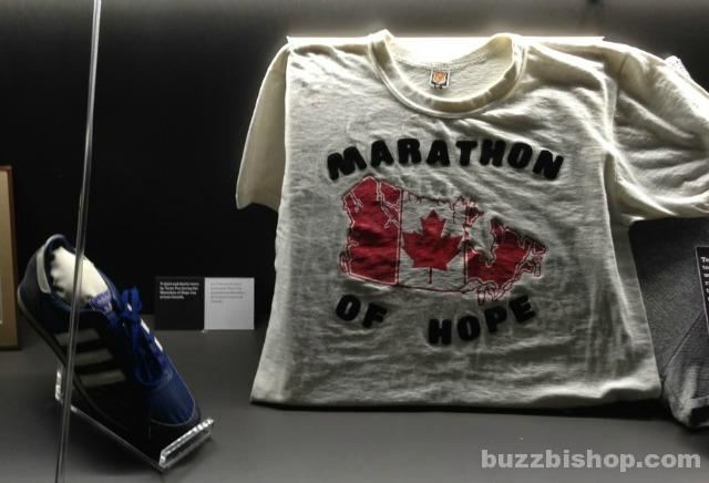 Terry Fox at Canada Sports Hall of Fame