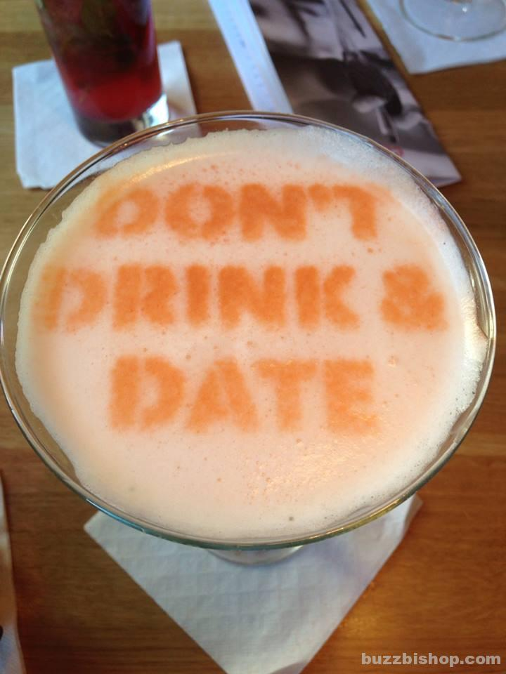 Don't Drink And Date - Earl''s Tequila Sunset