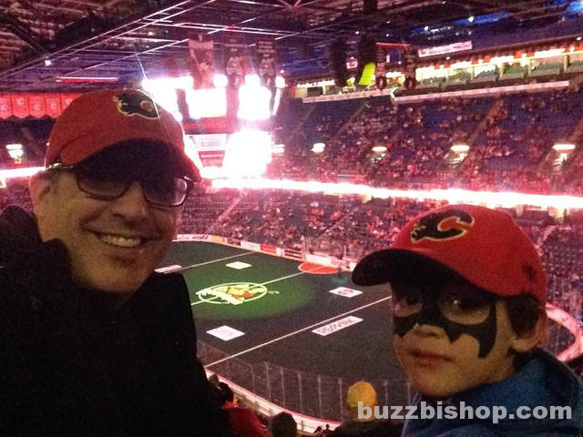 #PlayoffParty at the Saddledome