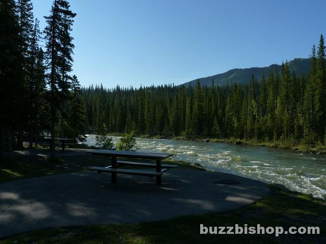 Elbow Falls Picnic Area - K Country
