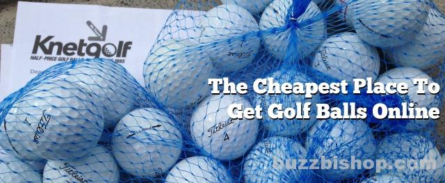 Cheapest Place To Get Golf Balls