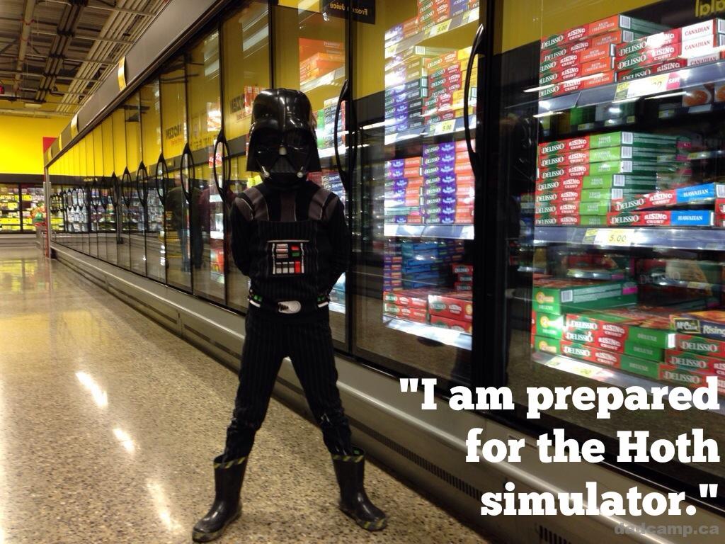Hoth simulator