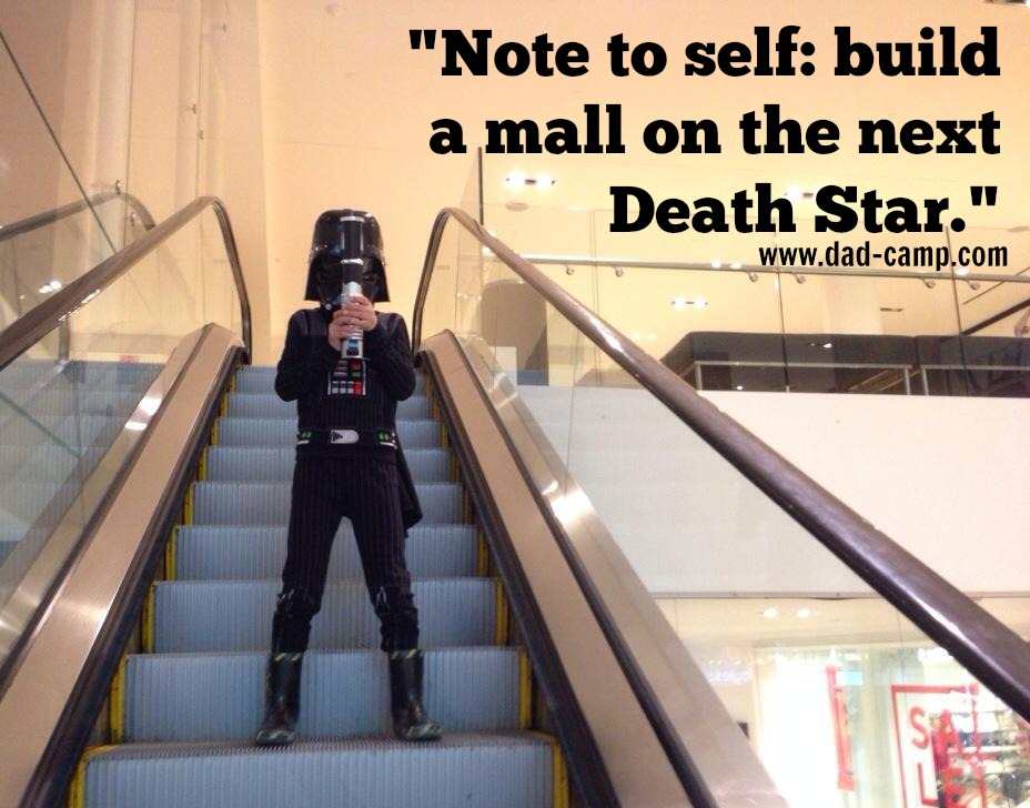 mall on Death Star