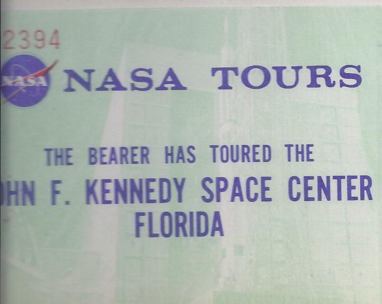 nasa 1975 tour ticket