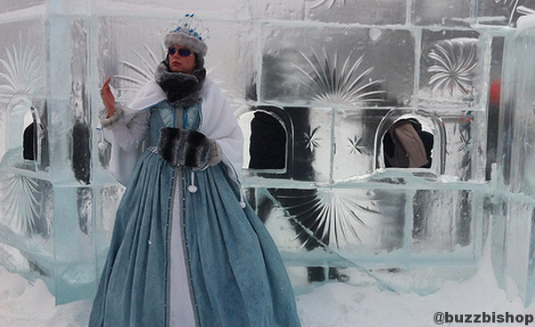 Ice Magic Festival at Lake Louise