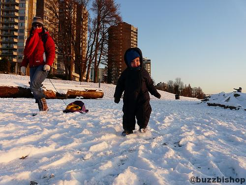 What A Snow Day In Vancouver Looks Like
