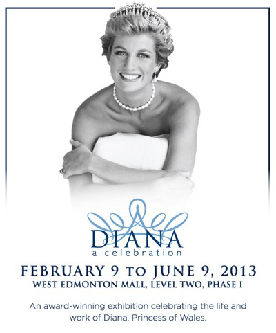 diana: a celebration at west edmonton mall