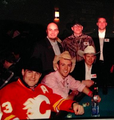 calgary flames poker